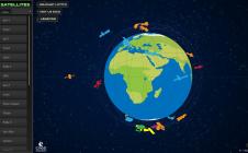 Satellites et climat : l'infographie